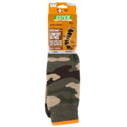 CAMOUFLAGE Knee High Sock